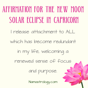 affirmation eclipse