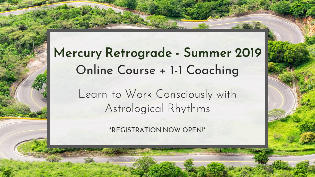 Summer Course! Learn to Work Consciously With Astrological Rhythms